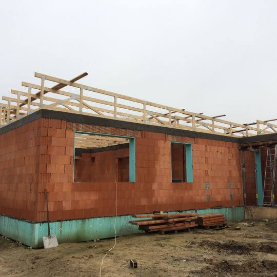 Novostavba rodinný dom Majerovce - Obrazok