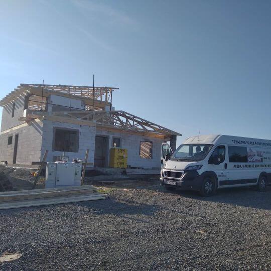 Novostavba rodinného domu Hankovce - Obrazok