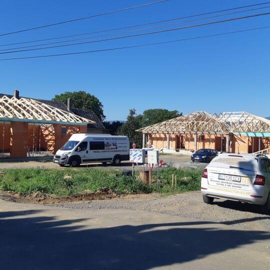 Novostavba rodinného domu Komárany - Obrazok