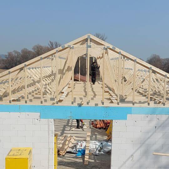 Novostavba rodinného domu Lomnica(VT) - Obrazok