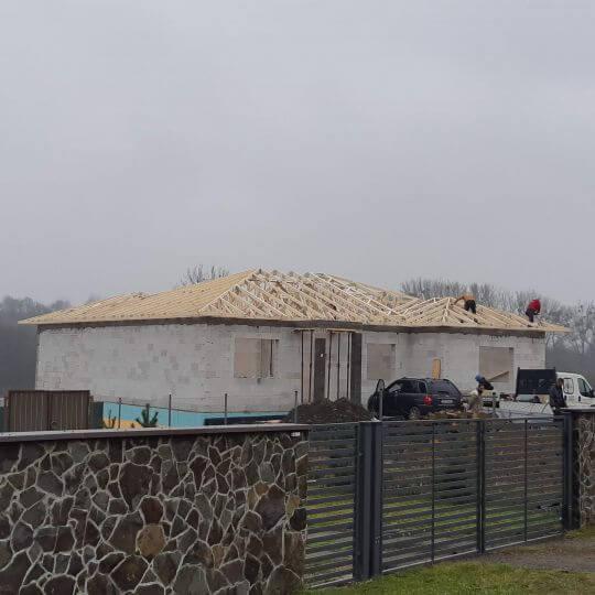Novostavba rodinného domu Kamenná Poruba - Obrazok