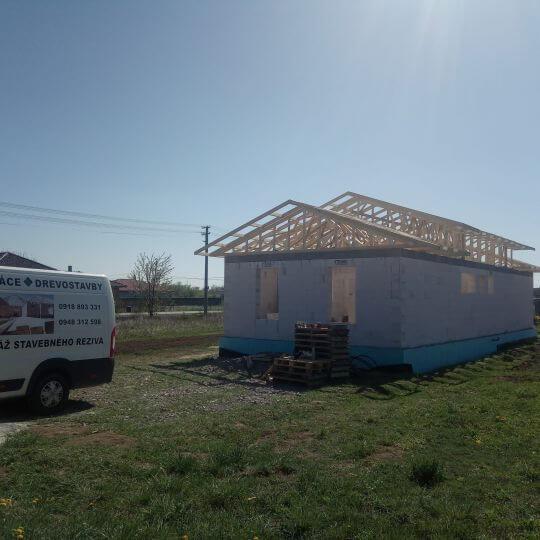 Novostavba rodinného domu Geča - Obrazok