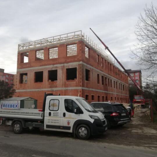 Novostavba zdravotného strediska Vranov nad Topľou - Obrazok