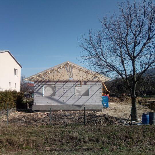 Novostavba rodinného domu Chlmec (HE) - Obrazok