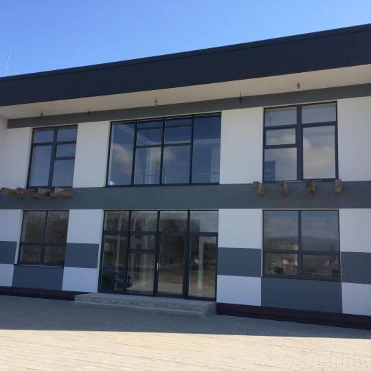 Novostavba výrobnej haly s administratívnou budovou - Obrazok