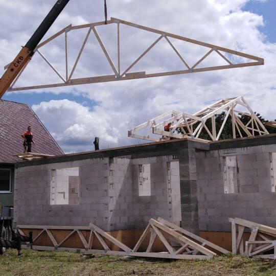 Novostavba rodinného domu Parchovany - Obrazok