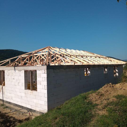 Novostavba rodinného domu Rokytov - Obrazok