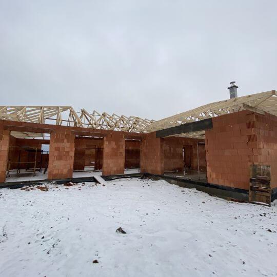 Novostavba rodinného domu Lomnica - Obrazok