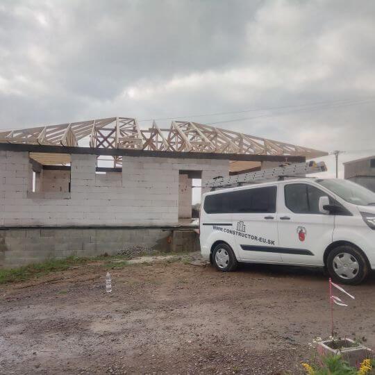 Novostavba rodinného domu Prešov - Šalgovik - Obrazok