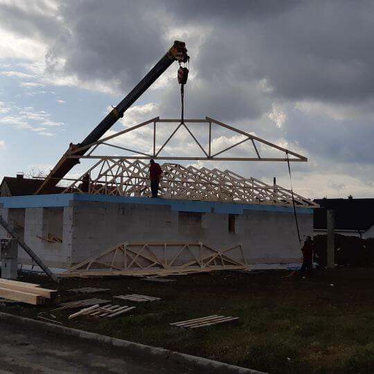 Novostavba rodinného domu Michalovce - Obrazok