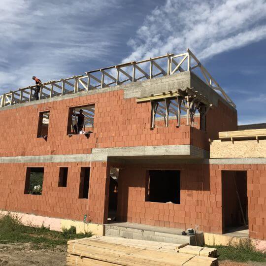 Novostavba rodinného domu Nižný Kručov - Obrazok