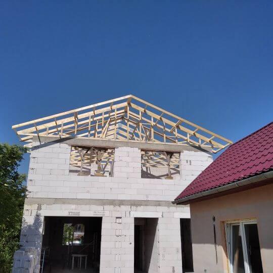 Novostavba rodinného domu Vranov nad Topľou - na Vŕšku - Obrazok