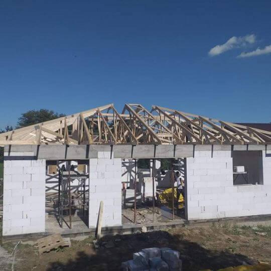 Novostavba rodinného domu Chrastné - Obrazok