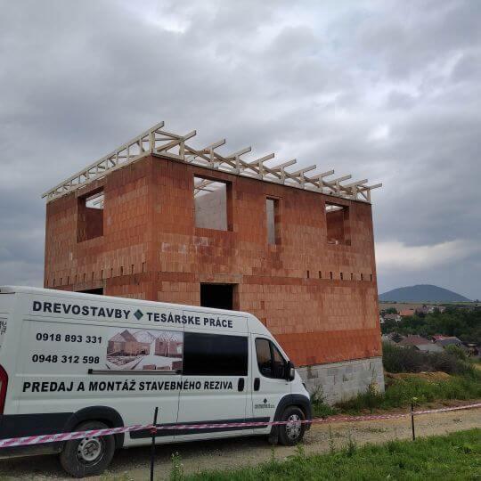 Novostavba rodinného domu Župčany - pult - Obrazok