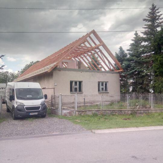 Rekonštrukcia krovu - Obrazok