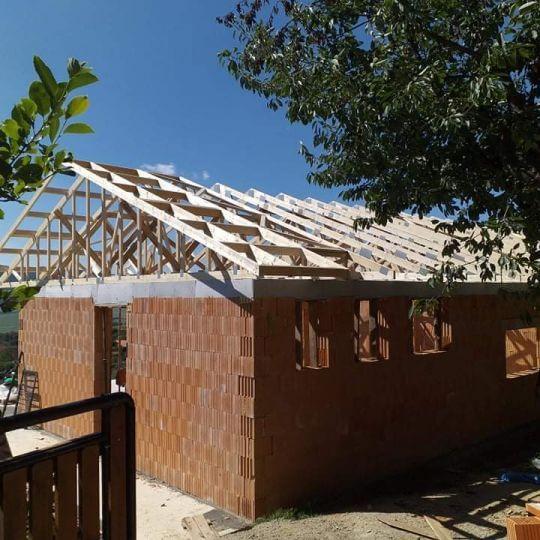 Novostavba rodinného domu Mihaľov - Obrazok
