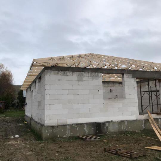 Novostavba rodinného domu Chminianska Nová Ves - Obrazok