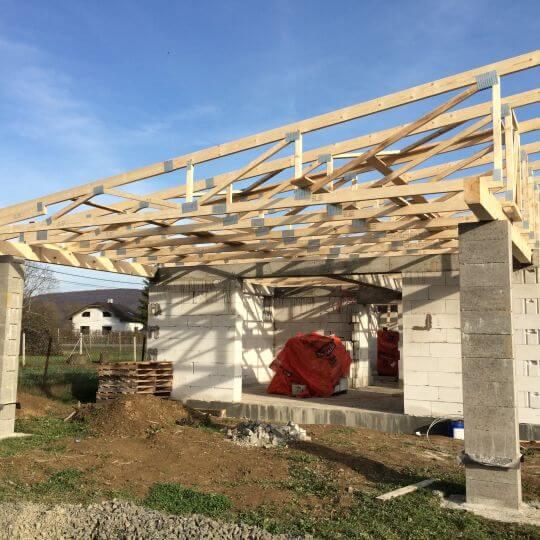 Novostavba rodinného domu Malá Domaša - Obrazok