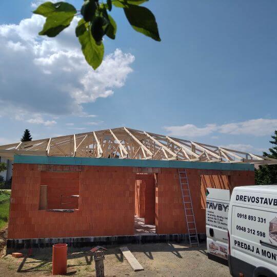 Novostavba rodinného domu Čaňa - Obrazok