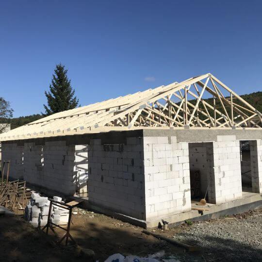 Novostavba rodinného domu Merník - Obrazok